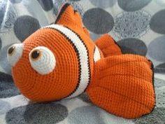 #patron gratis de Nemo #amigurumi (en ingles)