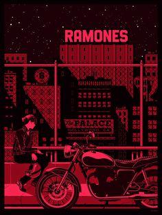 Mercenary: Ramones #KevinTong #Ramones #Mercenary #MercenaryGarage