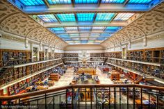 The State Library of New South Wales, Australia Image courtesy of Flickr user Christopher Chan