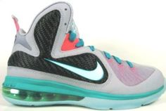 cheap for discount 08f0b 36668 Lebron 9 (GS) Miami Vice South Beach Shoes   Basketball Shoes 2013 Releases