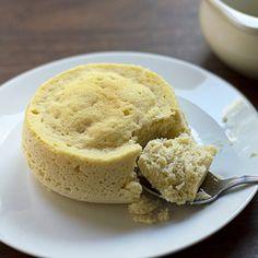 Low Carb Coconut Flour Mug Cake via @dropthesugar