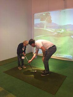 Exhibition Stand Design, Golf Simulator