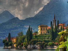 Isola Bella Lago D'Orta Italia