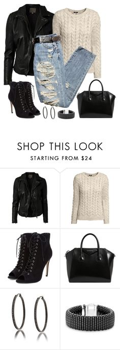 """""""Untitled #1154"""" by gallant81 ❤ liked on Polyvore featuring MuuBaa, H&M, Givenchy, Bling Jewelry and Lagos"""