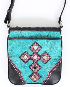 c01c452e6c87 Blazin Roxx® Ladies  Turquoise Crossbody Bag