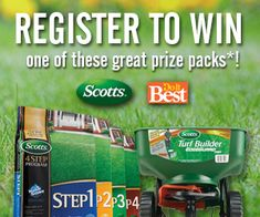REPIN THIS FOR AN EXTRA ENTRY. www.doitbest.com/contest Register to win an Edge Guard Spreader and a $100 gift card to purchase the necessary fertilizer for your home!