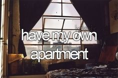 booked my first ever apartment viewing eee!! hopefully checking this off my bucket list in 2014!
