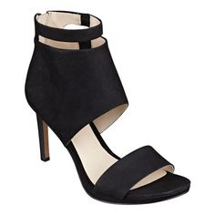 """Our Magicmonnt bootie-inspired hooded platform sandals are ready for any dressy moment you bring their way. Padded footbed for all-day comfort. Back zip for easy on/off. Nubuck leather upper. Man-made lining and sole. Imported. 1/4"""" platform. 3 1/2"""" high heels."""