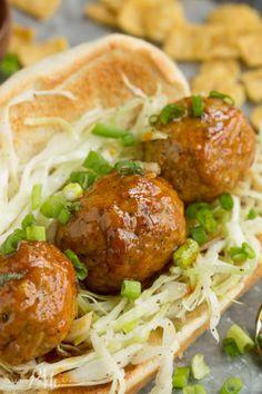 Nashville Hot Chicken Meatball SandwichFollow for recipesGet  Mein Blog: Alles rund um die Themen Genuss & Geschmack  Kochen Backen Braten Vorspeisen Hauptgerichte und Desserts