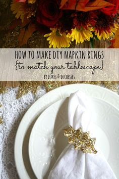 how to make DIY napk