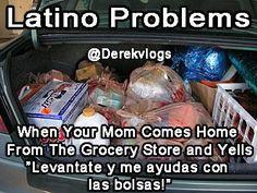 Latinos be like