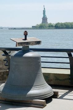 Statue of Liberty from Ellis Island