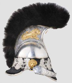 Bavarian cuirassier helmet 1832