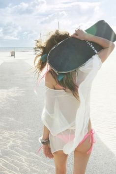 Swimwear that is Frolic Worthy... flattering options and cover-ups for casual summer beach and pool days