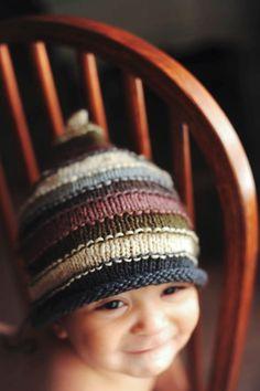 Unisex baby gnome hat.
