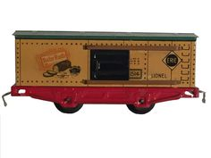 Hey, I found this really awesome Etsy listing at https://www.etsy.com/listing/288693561/lionel-erie-1514-baby-ruth-toy-boxcar