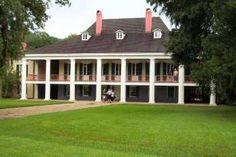 Destrehan Plantation ~ Constructed 1787-1790 ~ Old River Road between Baton Rouge & New Orleans LA