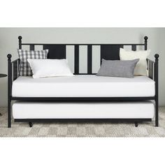 Gracie Oaks Troupsburg Twin Daybed with Trundle