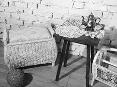 Rattan Sitzbank/ Truhe/ Wäschetruhe/ Hocker - Shabby Chic Hacks Diy, Ikea Hack, Vanity Bench, Rattan, Entryway Tables, Shabby Chic, Vintage, Room, Furniture
