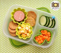 Kids school lunch ideas! with @EasyLunchboxes