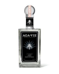 AGA•VIE - Esprit D'Agave (back of bottle)