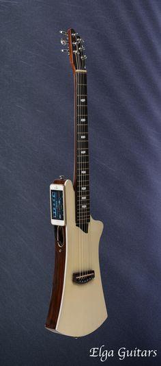 World's 1st iOS-Powered Travel Guitar