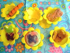 Butterfly muffin tin meal