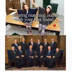 """581 Likes, 2 Comments - Mormons Get It™ (@mormonsgetit) on Instagram: """"Hehehehe  #mormonsgetit • • • Tag who you'd match outfits with """""""