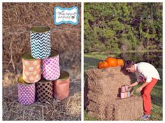 {BN Black Book of Parties} Pumpkin Party County Fair Birthday