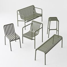 Palissade outdoor furniture / by Studio Bouroullec for Hay