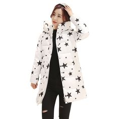 44.99$  Watch now - http://alieb2.worldwells.pw/go.php?t=32778101439 - Wadded Cotton Jacket Women New Winter Coat Female Fashion Warm Parkas Hooded Women's Down Jacket Casual Coat Plus Size DR0046