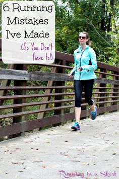 Running Mistakes I've Made (So You Don't Have to!) tricks to become a better, more efficient runner!   Running in a Skirt