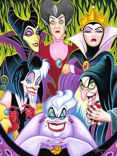 "Disney Fine Art: ""Misleading Ladies"" by Tim Rogerson"