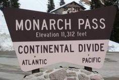 MONARCH PASS HWY 50 COLORADO Gunnison Colorado, Colorado Trip, Colorado Springs, Continental Divide, Crested Butte, Adventurer, Utah, Growing Up, Bucket