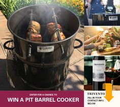 Get Grilling with Trivento Wines & enter for a chance to WIN a Pit Barrel® Cooker, Smoker & Grill!