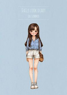 Image in Fashion_V collection by on We Heart It Disney Drawings, Cute Drawings, Girl Cartoon, Cartoon Art, Fashion Figures, Fashion Design Sketches, Illustration Girl, Daily Look, Anime Art Girl