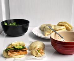 Tofu and Mushroom Steamed Buns (Bao) Recipe
