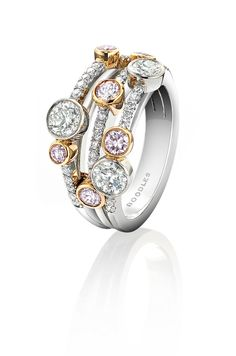Pink Diamond Engagement Rings...Love this ring.  It would even make an awesome right hand ring!