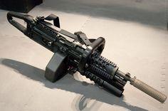 chainsaw light machine gun