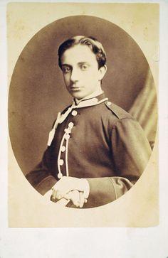 El Príncipe Alfonso de Borbón, futuro rey Alfonso XII de España. http://monarquiasi.tumblr.com