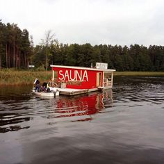 Sauna i do wody! #sauna #tratwa  #mazury #niegocin #jezioro #woda #żagle #najeziorze