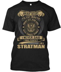 STRATMAN - I Never SaidIWas Perfect