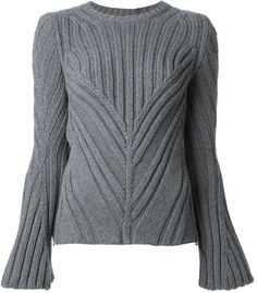 Alexander McQueen thick ribbed sweater on shopstyle.com