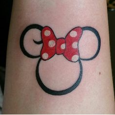 Minnie Mouse tattoo