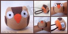 OWL WRIST PINCUSHION by LoRi-La-Tortuga.deviantart.com on @deviantART