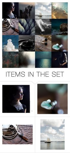 """""""We Sail on a Rising Tide"""" by gwenrossmiller ❤ liked on Polyvore featuring art"""
