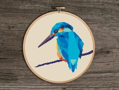 (10) Name: 'Embroidery : Bird Animal cross stitch pattern