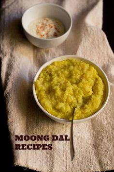 moong dal khichdi recipe for ganesh chaturthi festival - rice and green gram lentils cooked to porridge consistency. no onion no garlic khichdi made using 5 ingredients. very easy and simple recipe. Healthy Indian Recipes, Vegetarian Recipes, Cooking Recipes, Healthy Food, Garlic Recipes, Vegetable Recipes, Rice Recipes, Soup Recipes, Moong Dal Khichdi