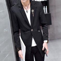 6ec8f15779b Fashion Designer Men Shirt 2018 Autumn Slim Fit Long Sleeve Social ...