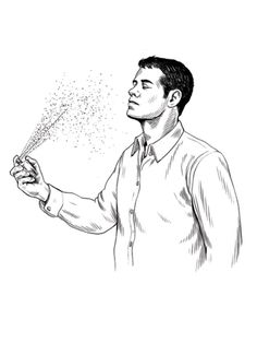 Always: The Spray 'n' Dab Deliver one squirt to each wrist and then dab your neck. Why? It has nothing to do with pulse points—that's just where your skin meets the air most often....